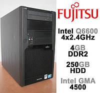 Fujitsu Esprimo P7935 - 4 ЯДРА /4GB DDR2 /250GB HDD