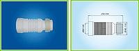 Отвод для унитаза гибкий ГУ 550