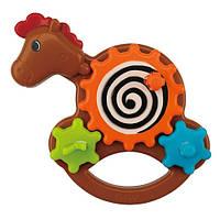 Розвиваюча іграшка-крутилка Коник