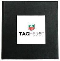 Черная подарочная картонная коробочка для наручных часов TAG Heuer
