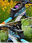 Велосумка на раму RockBros RS голубая, фото 5