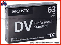 Видеокассета Sony DVM63PS Professional