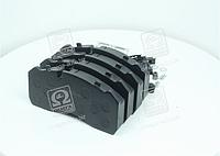 Колодка тормозная дисковая (комплект на ось)BPW, IVECO, MAN 2000,TGM, MB ATEGO, SAF (RIDER)