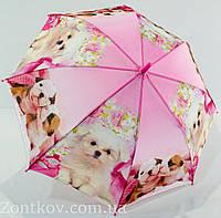 """Детский зонтик трость с собачками на 4-8 лет от фирмы """"Swifts"""""""