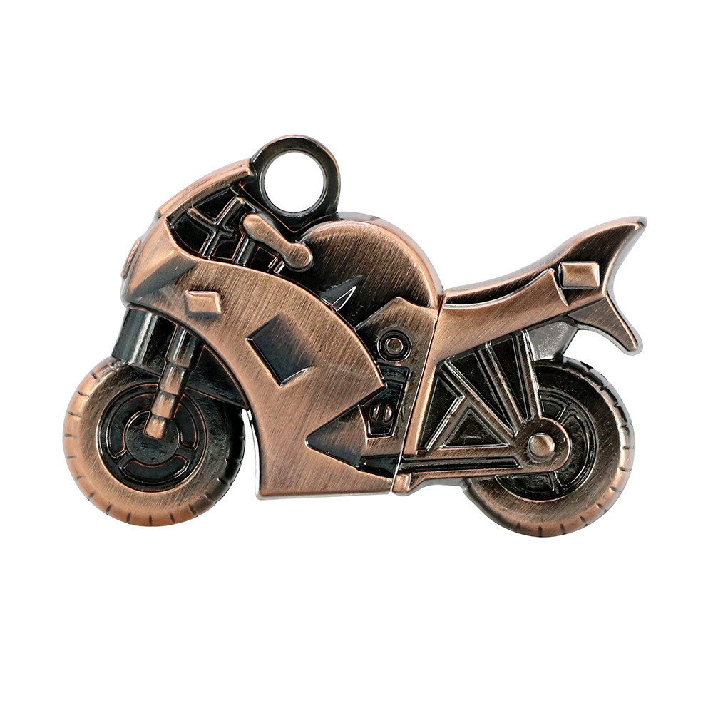 USB Флеш Мотоцикл 16gb Бронза