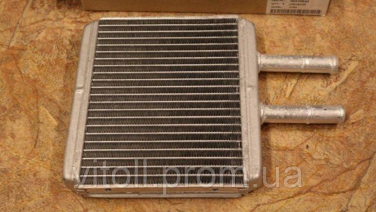 Радиатор печки Chevrolet Авео алюминиевый Grog