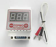 Терморегулятор цифровой термопарный ЦТР-2т (-99...+999) + термопара, фото 1