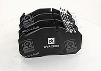 Колодка тормозная дисковая (комплект на ось) MAN 2000,TGA, MB, KASSBOHRER, RVI MAGNUM,PREMIUM <ДК>