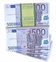 Сувенирные деньги 500 евро