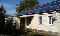Солнечная электростанция мощностью 9 кВт в с. Вязивок, Черкасская область