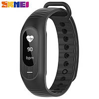 Смарт браслет Skmei Smart ( bluetooth) watch. B15P (black) New 2018 Гарантия!  + ВІДЕО Спортивные часы