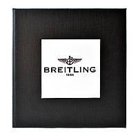 Черная подарочная картонная коробочка для наручных часов Breitling
