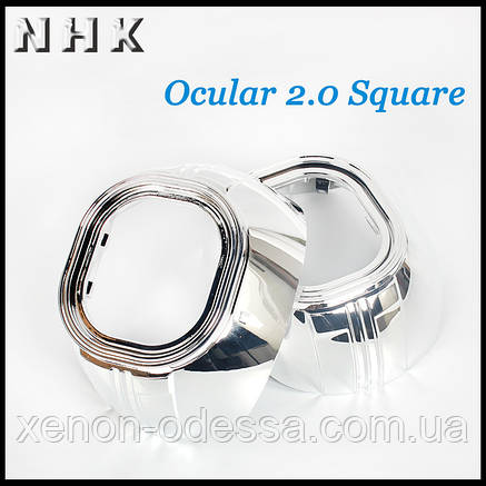 "Маска для ксеноновых линз 3.0"" : Z130 / Z109-S null  Apollo Square / Ocular Square, фото 2"