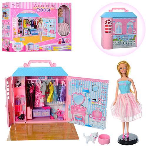 Гардеробная (шкаф) для куклы арт. 99049