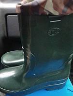 Сапоги рыбацкие с утеплителем (резина) высокие