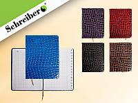 Записная книжка, 160 стр, 13x18 cм, 4 цвета в ассортименте NEW