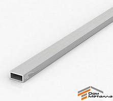 Труба алюминиевая 20х10х1мм прямоугольная АД31Т5 б.п.