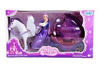 Карета с лошадью и куклой 234A
