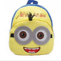 Детский рюкзак для девочек и  мальчиков Minions