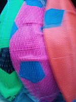 Мяч футбольный резиновый надувной