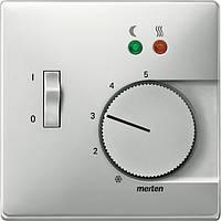 Накладка для механизма терморегулятора Merten SD Сталь MTN537546
