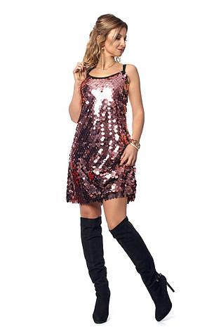 Очень красивое блестящее платье, украшенное пайетками, фото 2