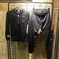 Sport Suit Balmain Tiger Black
