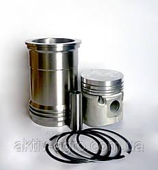 Комплект  ЗИЛ-130 на 1 цилиндр (гильза, поршень, п/палец, поршневые кольца, упор. и упл. кольца)