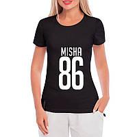 Женская футболка - Misha86, отличный подарок купить со скидкой, недорого