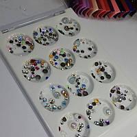 Камешки разноцветные разной формы