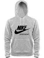 Мужская кофта с капюшоном/ толстовка/ худи/ кенгуру Найк Nike