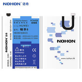 Аккумулятор Nohon HB496183ECC для Huawei Enjoy 6 (ёмкость 4000mAh)