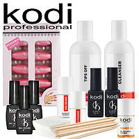 Стартовый набор для покрытия ногтей гель лаком Kodi (без лампы)