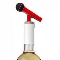 Стоппер для бутылки Dynamike Rocket Design (красный)