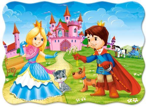 """Пазлы """"Принц и принцесса"""", 30 элементов"""