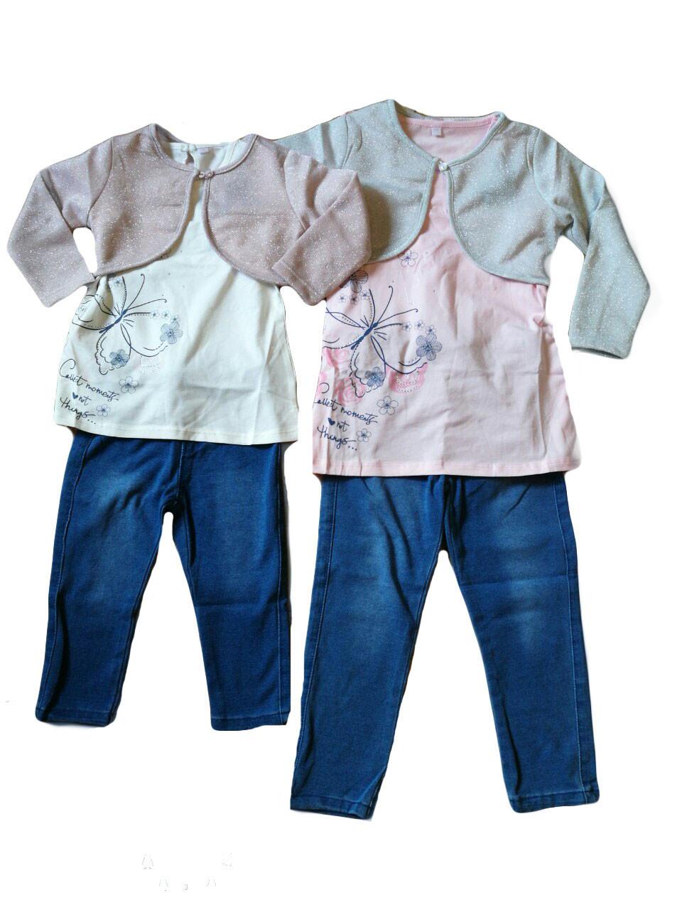 Комплекты для девочки, размеры 1-5 лет, Emma Girls, арт. 7884