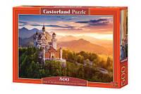 """Пазлы """"Вид на замок Нойшванштайн, Германия"""", 500 элементов"""