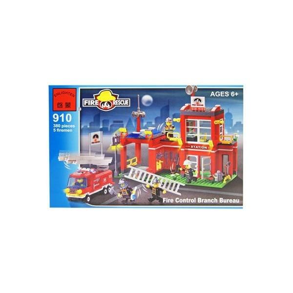 Конструктор Brick Пожарная охрана 380 деталей