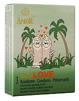 Презервативы Amor wild Love 3 шт.
