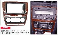 Переходная рамка CARAV 11-352 2 DIN (Skoda Octavia)
