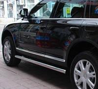 Подножки, Трубы на Volkswagen Touareg (c 2002---) PRS