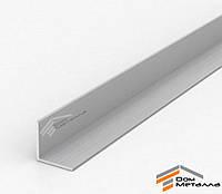 Уголок алюминиевый 25х25х2мм АД31Т5 AS Серебро