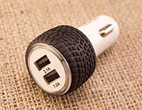 Автомобильное зарядное устройство XKY-002 Адаптер USB 2А