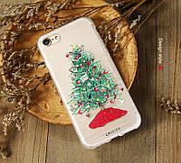 Новогодний чехол Caseier для Apple iPhone 6 Plus/6S Plus