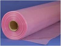 Плёнка ПЭ СОЮЗ 150мк, ширина 12м, длина 33м, стабилизированная, UV-6 (на 6 сезонов), трёхслойная, розовая
