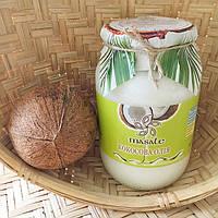 Кокосовое масло пищевое Грин Валей 1 л стекло Индия