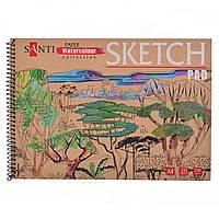 "Альбом для эскизов А4 ""Paper Watercolour Collection"", 20л 741699"