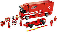 "Конструктор Lepin 21022 (аналог Lego Racers 8185) ""Грузовик Ferrari "", 596 дет"