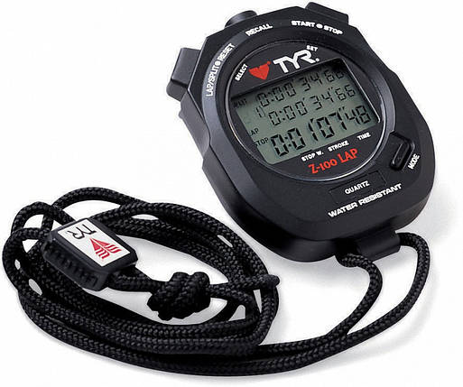 Секундомер Tyr Z-100 Stopwatch LSW001, фото 2