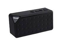 Портативный динамик Bluetooth X3 с радио и поддержкой SD карт  Черный